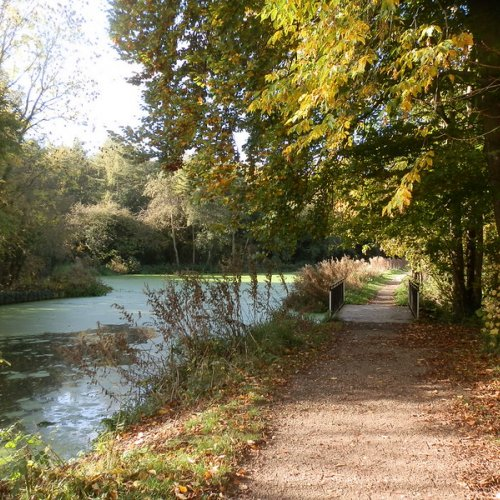 An October tow path walk