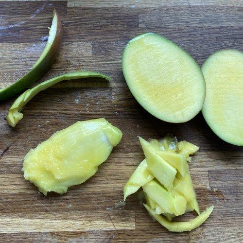 Mango stone