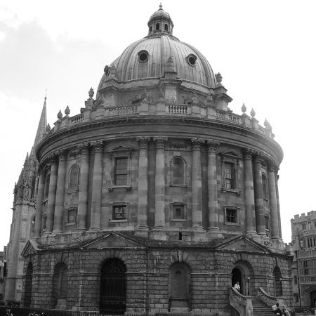 The Bodleian Library, Oxford. Courtesy of Matt.whitby at en.wikipedia, Public domain, via Wikimedia Commons
